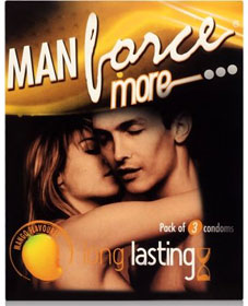 Manforce More Condom Mango Flavoured By Manforce Best